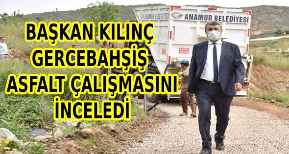 Anamur Belediyesi,Hidayet Kılınç,Gercebahşiş,Anamur Haber,