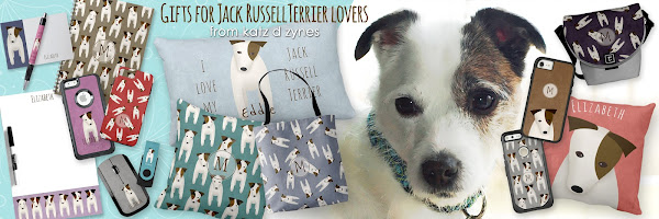 Gifts for Jack Russell Terrier lovers - from katzdzynes on Zazzle