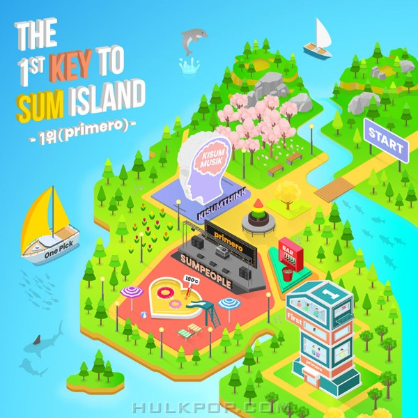 Kisum – THE 1st KEY TO SUM ISLAND – Single (FLAC)