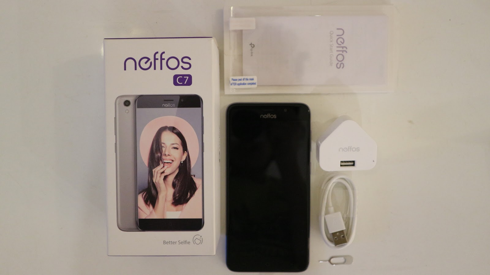 Unbox the TP-Link Neffos C7 ( The Perfect Selfie