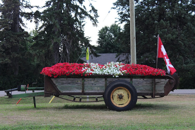 Celebrating Canada 150 in blooms