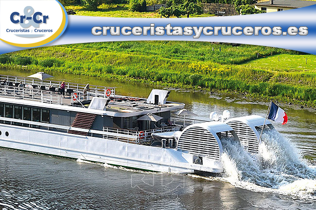 """► El MS Elbe Princesse votado """"Barco de Crucero Fluvial del Año"""""""