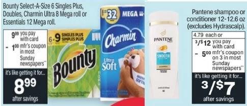 Bounty & Charmin CVS Coupon Deal