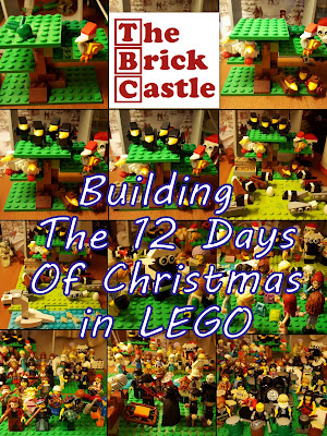 Building the LEGO 12 days of Christmas