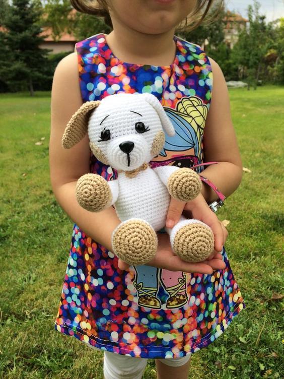 Cutest Amigurumi Crochet Dog Patterns | 752x564