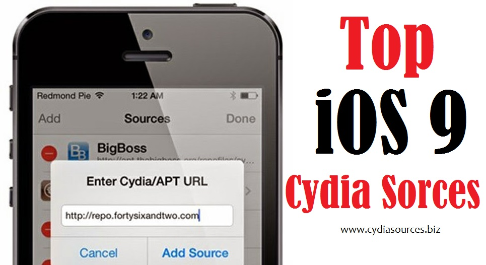 Cydia Sources: iOS 9 Cydia Sources