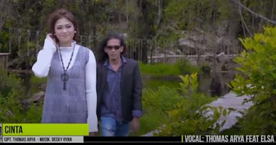 Lirik Lagu Pof Malaysia Thomas Arya Feat Elsa Pitaloka - Cinta