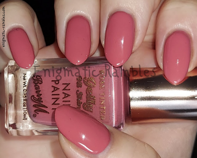 Swatch Barry M Crushed Rose Tinted Gelly