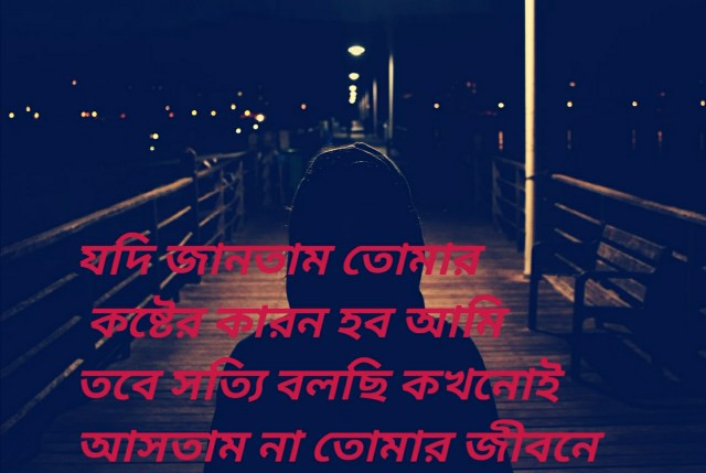 Bangla Sad Shayari photo