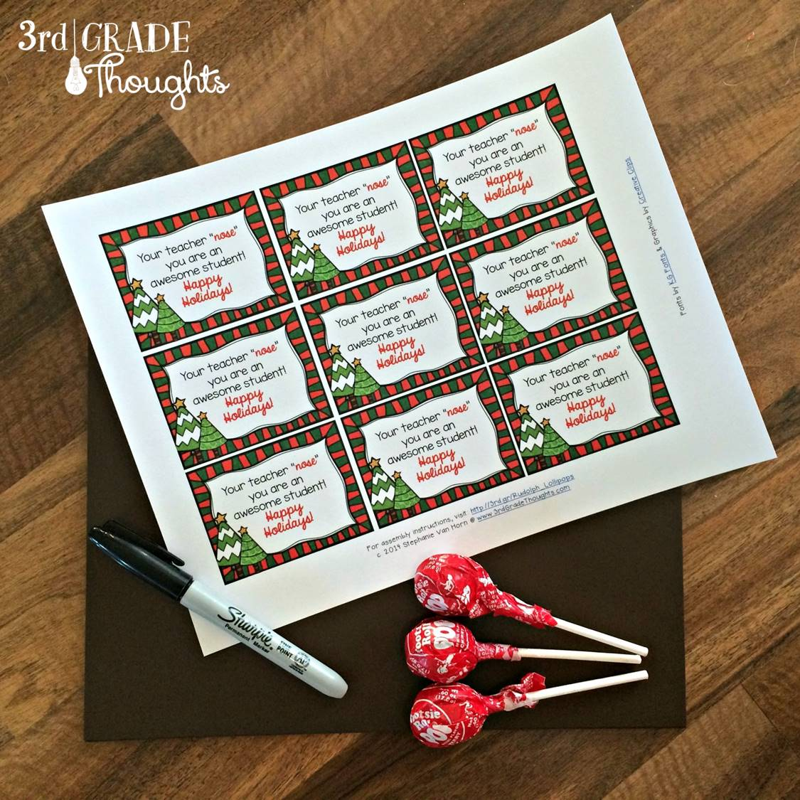 Ho-Ho-Holiday Gifts for Your Students {2014 Link-Up} - 3rd Grade ...