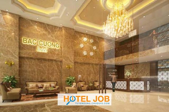 Khách Sạn Bắc Cường tuyển dụng gấp tháng 7/2020