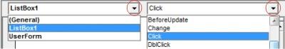 Prosedur Listbox klik