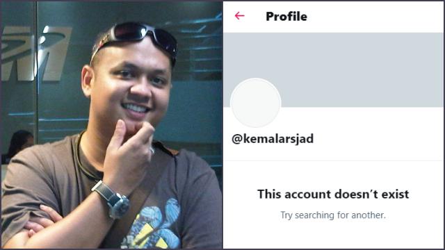 Kemal Arsjad Minta Maaf ke Anies dan Erick Thohir, Tak Lama Akun Twitternya Lenyap