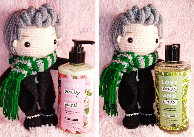 Love Beauty and Planet Lotion and Body Wash