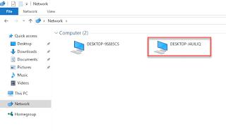 Sửa lỗi Windows 10 không hiển thị tên máy tính trong mạng LAN