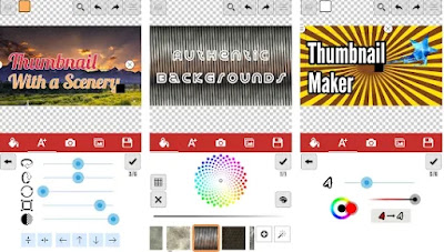 Aplikasi edit thumbnail