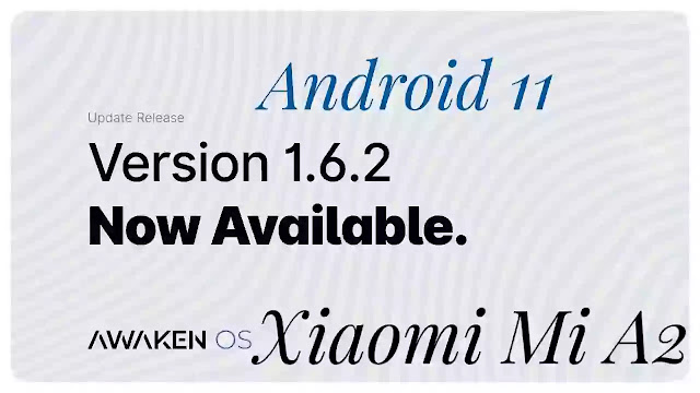 Awaken V 1.6.2 Best For Xiaomi Mi A2 | Jasmine Sprout/Wayne | Gaming Performance Rom And Battery Life RAM Manegement