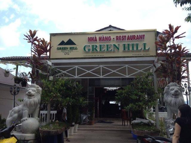 Nhà hàng Green Hill – Sau dinh II