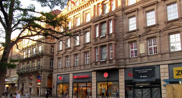 As Farmácias Rossmann em Nuremberg, Alemanha