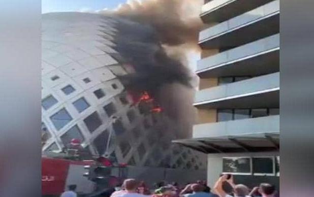 لبنان.. اندلاع حريق جديد بالحي التجاري في بيروت