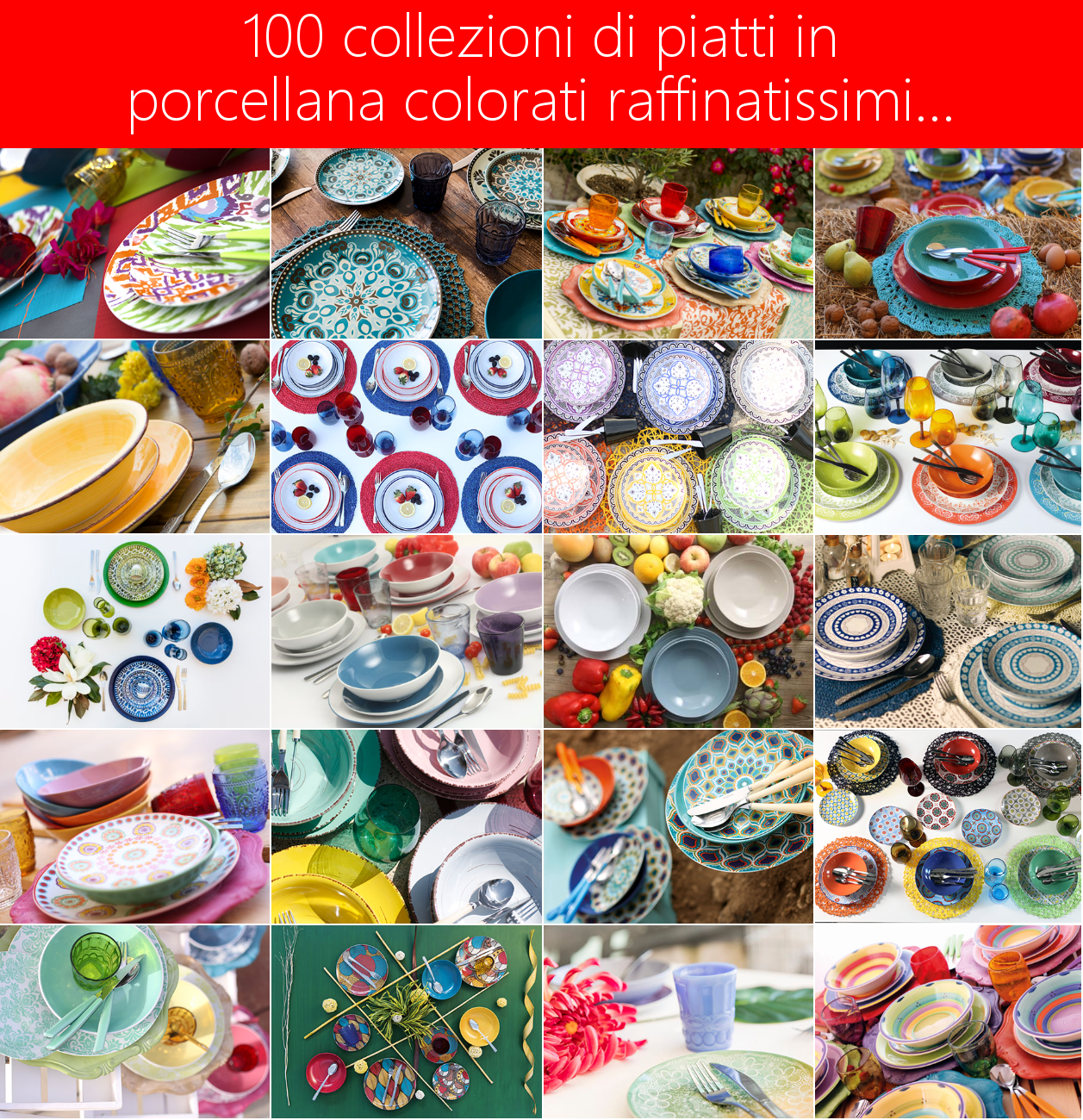 Set Piatti Cucina | Piatti Opti Quadro Myzooma Be Creative Be Design