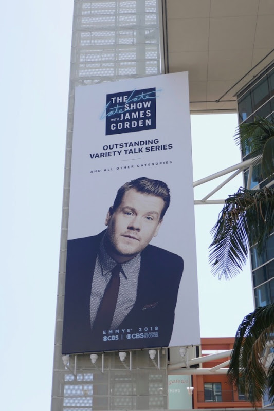 James Corden 2018 Emmy FYC billboard