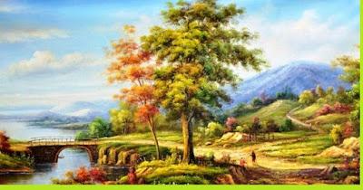 Contoh Lukisan Naturalisme