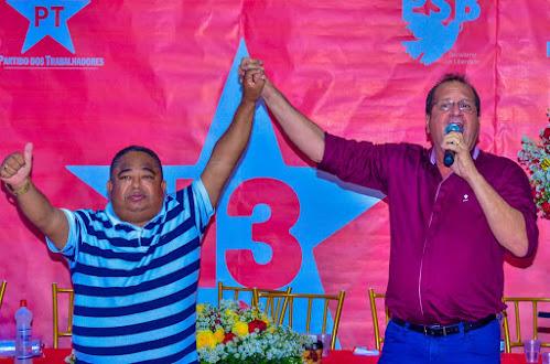 ITAMBÉ: CONVENÇÃO HISTÓRICA DO PT OFICIALIZA CANDIDATURA À REELEIÇÃO DE EDUARDO GAMA AO LADO DE CEÇULA ABREU