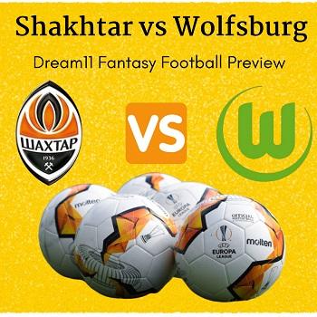 Shakhtar Donetsk vs Vfl Wolfsburg