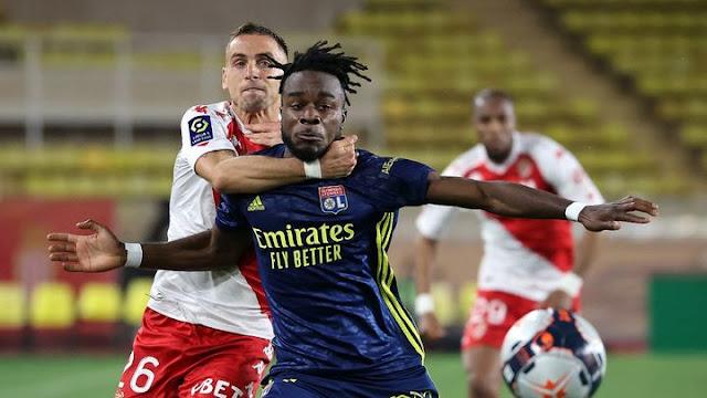 الدوري الفرنسي  ليون يقلب الطاولة على موناكو ويبقي حظوظه في المشاركة بدوري الأبطال