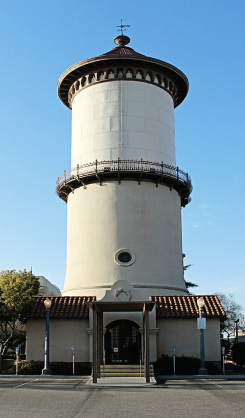 Old Fresno Water Tower California