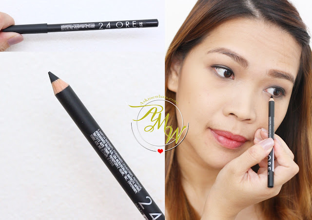 a photo of 24ORE Pencil Eyeliner Black