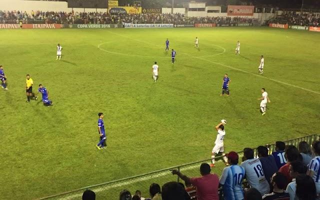 Em atuação razoável, Paysandu vence o Águia em jogo com polêmicas
