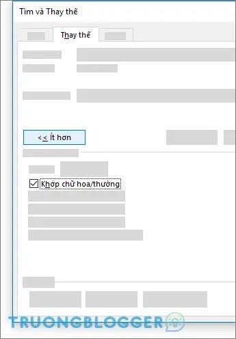 Thay thế từ trong Word, Excel tự động và nhanh chóng
