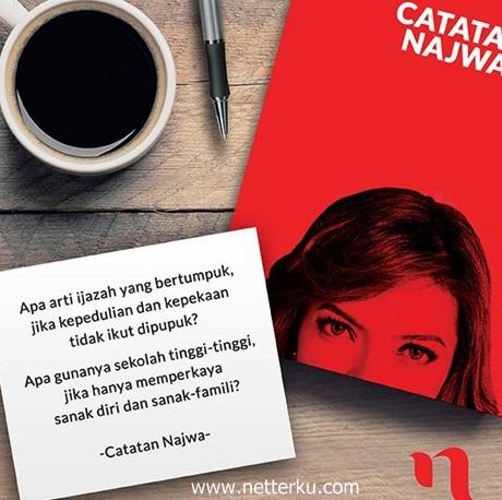 Kata Bijak Najwa Shihab - Netterku.com