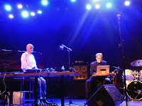 Hans-Joachim Roedelius, Carl Michael von Hausswolff @ Porgy&Bess / photo S. Mazars