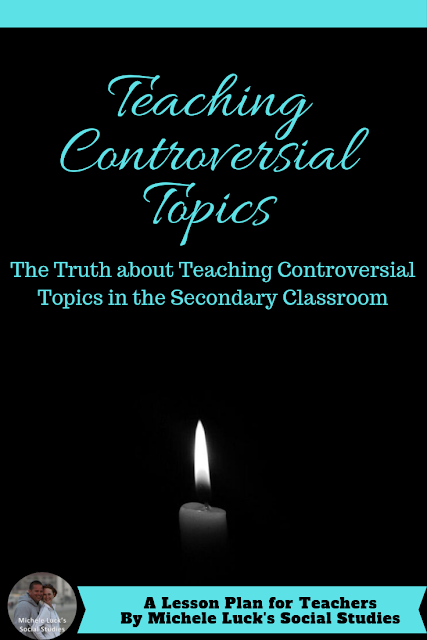Above all, don't shy away from teaching controversial topics in the secondary classroom. In fact, teaching controversy appropriately will ensure that students develop a strong, thorough foundation of historical content (without any glaring holes around all things sensitive) while also empowering them to handle controversy in their everyday lives with empathy and understanding. Our job as Social Studies teachers transcends the textbook in all situations, and we are trusted to prepare our students to be effective citizens. Teaching controversy in the classroom may not be easy, but it's a necessity to prepare our students to be respectful human beings and seekers of justice in their communities. #teaching #newteachers #teachingtechniques #teachingstrategies #controversy #teachingcontroversy #teachinglife #teachersteachthefuture
