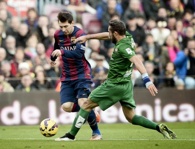 Cuplikan Video Gol Barcelona Vs Levante Skor Barcelona Berhasil