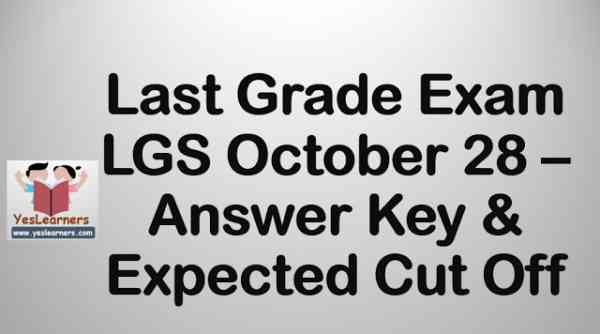 lgs_october_28_answer_key