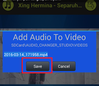 Cara Menambahkan Musik / Lagu Kedalam Video Android