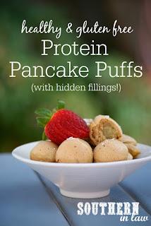 Healthy Protein Pancake Puffs Recipe Gluten Free