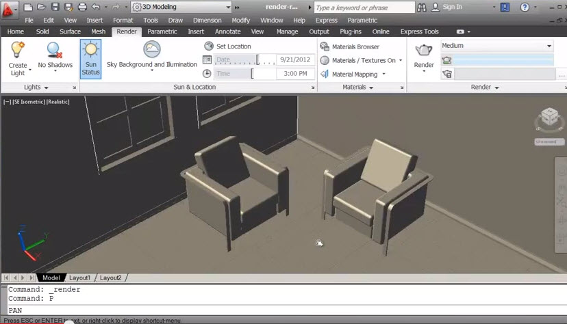 autocad interior design tutorial pdf