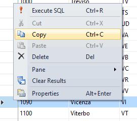 Come duplicare una riga di una tabella in Sql Server