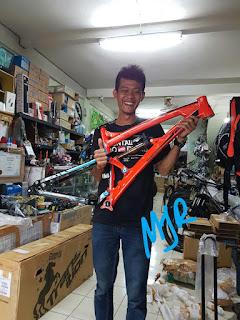 Frame Transition Covert 27.5 All Mountain Enduro Orange