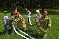 Профессия пожарного нам по плечу