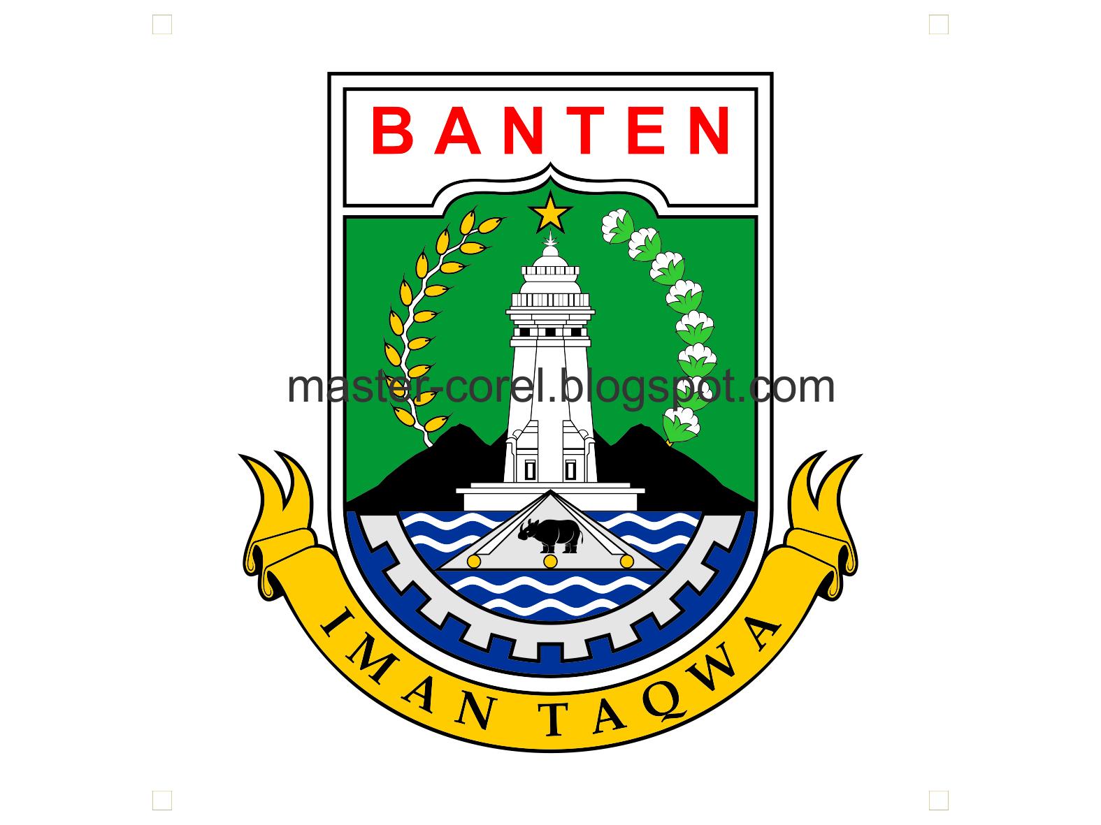 Download logo Provinsi Banten CDR PNG - master-corel.com