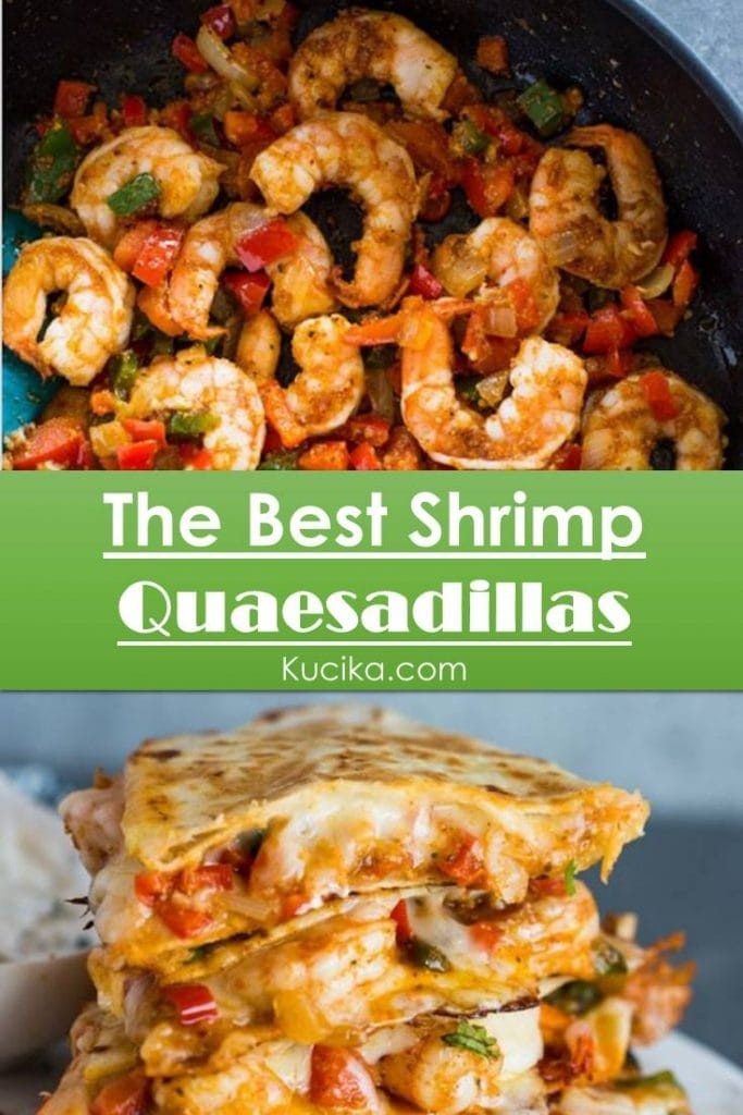 Special Shrimp Quesadillas #Seafood