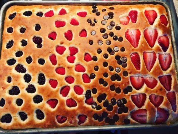SHEET PAN PANCAKES #cake #pancake