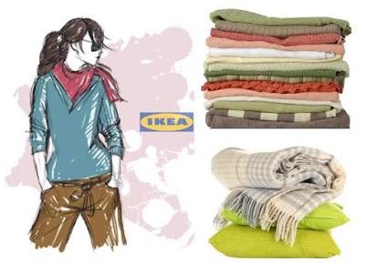 Cómo hacer prendas de invierno con mantas de Ikea