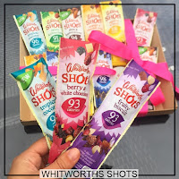 Whitworths Shots Fruit Nuts Snack Natural Eat Clean
